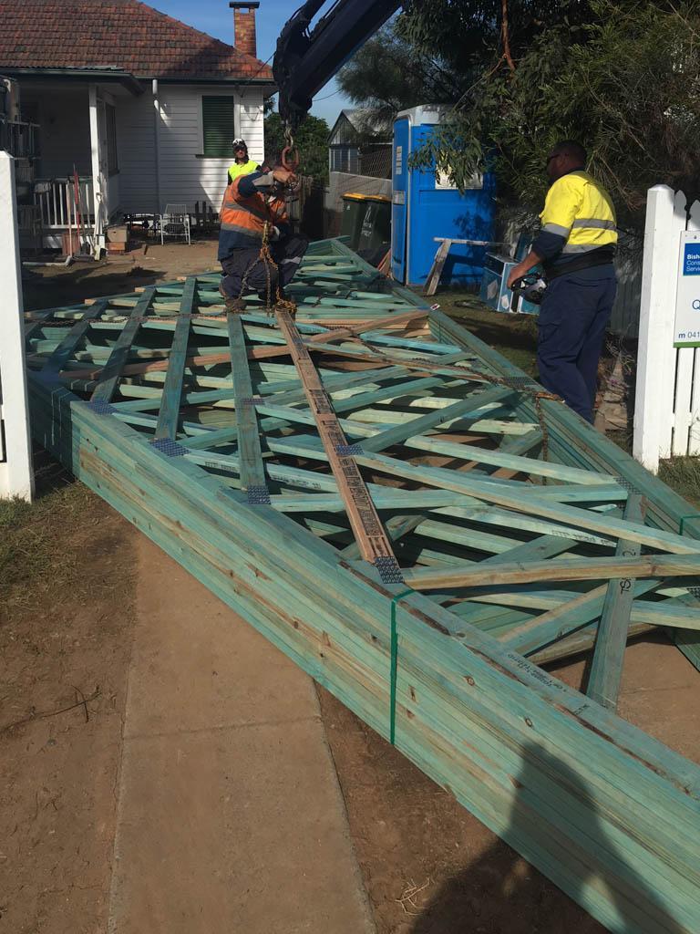 Deck Building Holland Park - Second Stage Update | Bishop Constructions