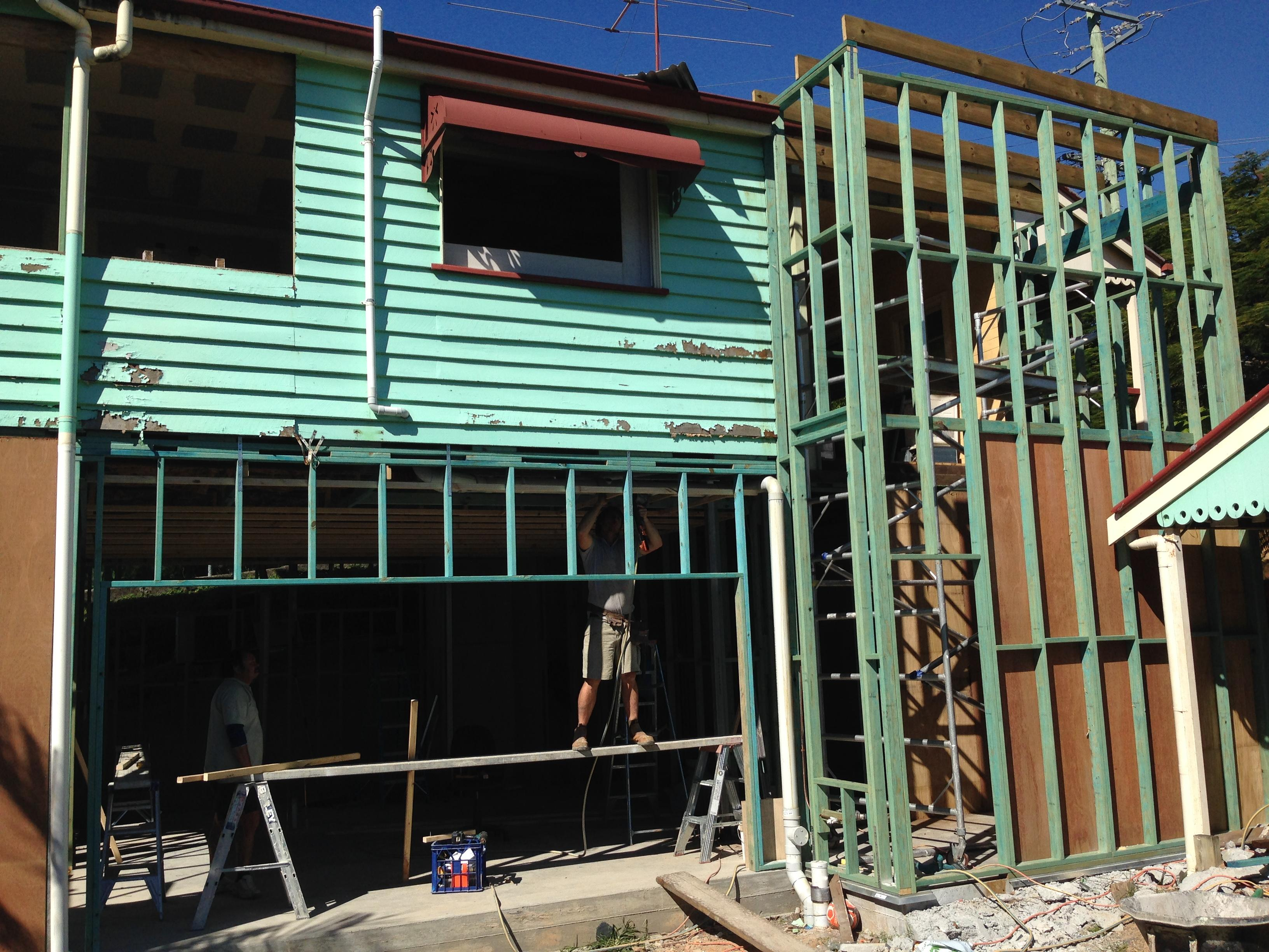 Morningside House Raiser - Bishop Construction Services