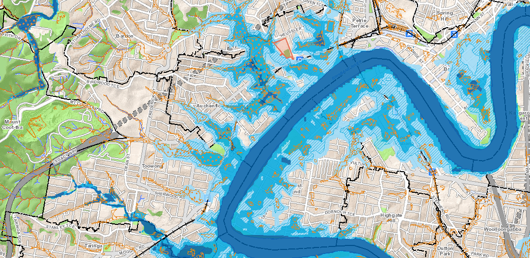 Overland Flow Map