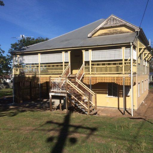 Jutland Street House Raise Project - Bishop Construction Services