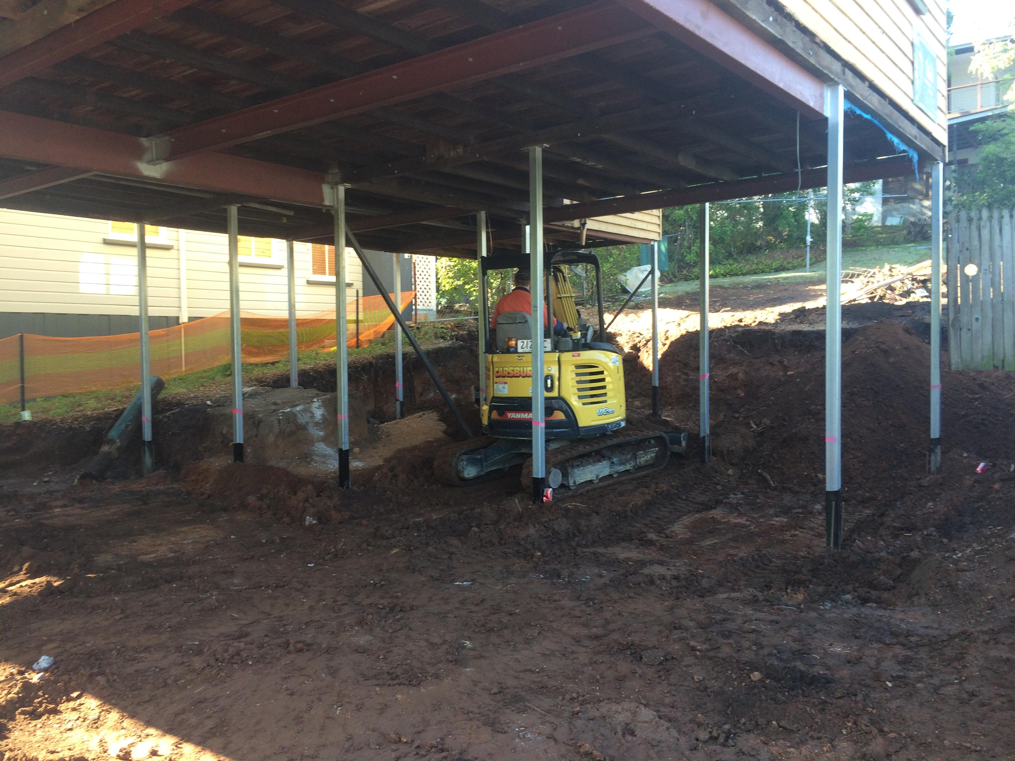 House Raise at Daisy Street - Bishop Construction Services