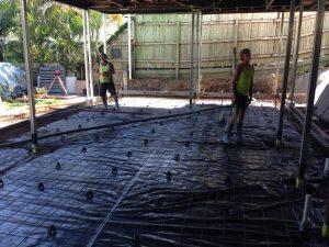 Morningside House Raise Worksite - Bishop Construction Services
