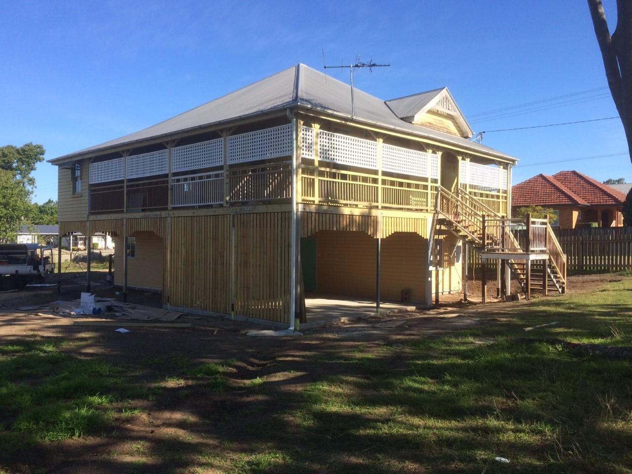 Oxley House Raiser - Bishop Construction Services